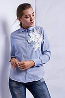 Оригинальная рубашка делового стиля