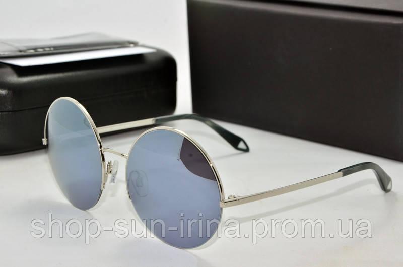 3c028c70bd2d Солнцезащитные очки круглые Victoria Beckham зеркальные - SunLike в Киеве
