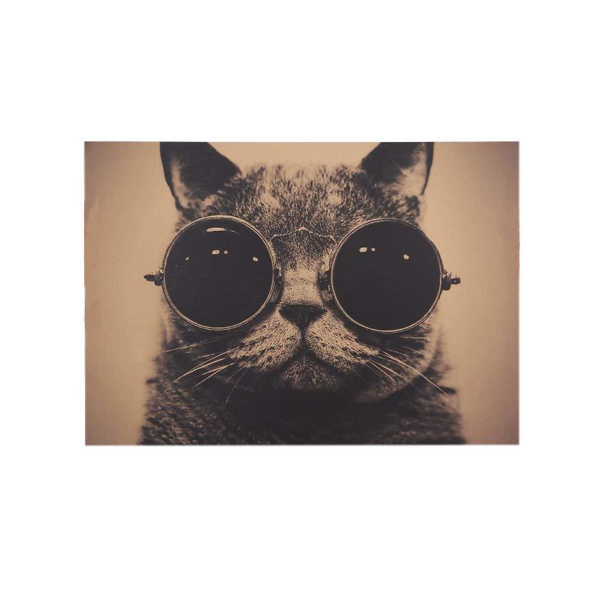 Декор: Ретро стиль - Кот в очках, фото 1