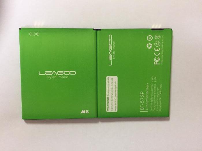 Батарея Leagoo M8 BT-572P Акумулятор АКБ