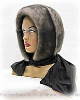 Платок женский норковый (ирис)