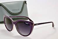 Солнцезащитные очки круглые Vogue фиолетовые, фото 1