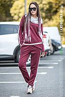 Спортивный женский костюм замша