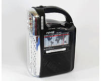 Радио NS-040 с фонариком (бумбокс mp3 колонка)