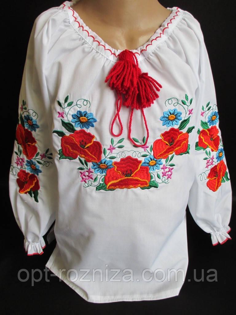 Вышитые блузы для девочек.