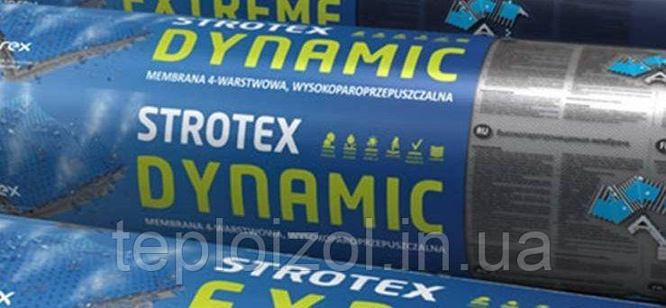Покрівельна мембрана Стротекс Динамік щільність 135