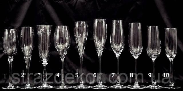 Производители и качество свадебных бокалов