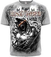 Футболка Disturbed ''Asylum (melange t-shirt)
