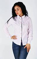 Модная рубашка с длинным рукавом