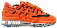 Женские кроссовки Nike Air Max 2016 (найк аир макс 2016) оранжевые