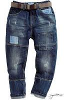 Cтирка (обработка) образцов джинсовый одежды
