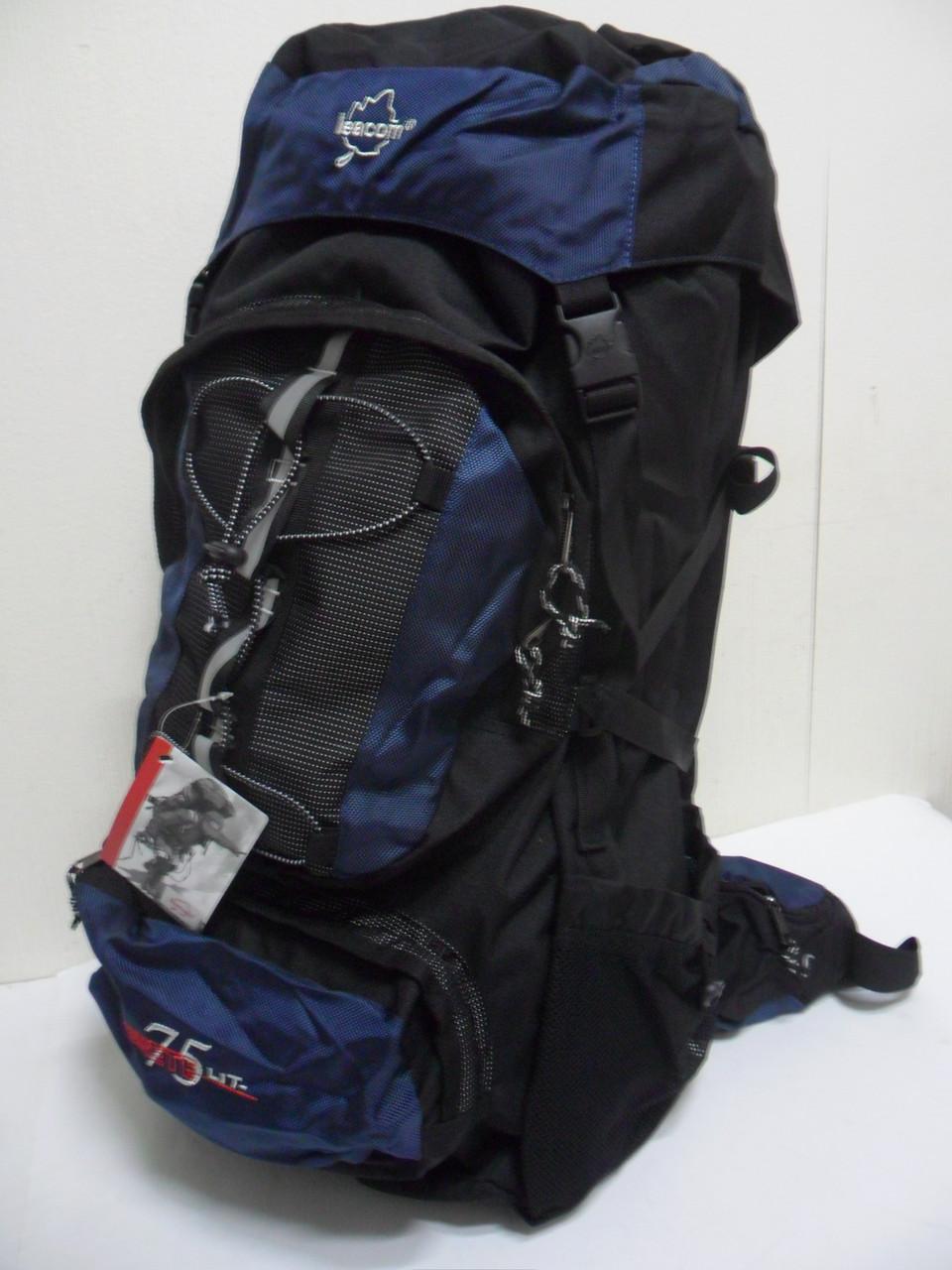 """Рюкзак турист с регулировкой спины """"Leacom"""" 75л."""