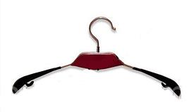Плечики вешалка с деревянной красной вставкой