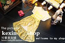 Платье с гипюровой юбкой для девочки, фото 3