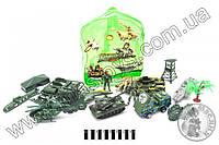 Армія ( військова техніка, солдати, рюкзак) B-3 р.28*25*18 см