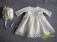 """Теплое платье для крещения """"Аскольда"""", фото 1"""