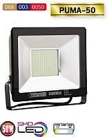 LED Прожектор 50W/IP65/6500K «PUMA-50», фото 1