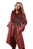 Женское Пальто ПВ-32 Красный 2