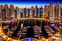 Стеклянный фартук для кухни - скинали Дубаи