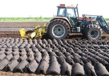 Добыча торфа и торфяных брикетов