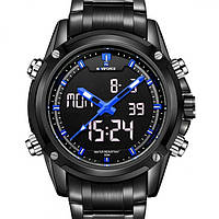 Мужские часы наручные Naviforce Aero Blue