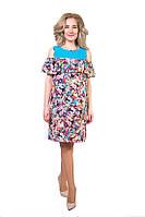 Платье модного, свободного силуэта