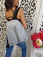 Рюкзак женский 3327мд Цвет: чёрный,серый