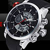 Мужские часы наручные Weide Premium Rubber, фото 2