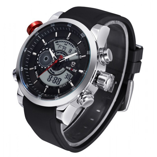 Мужские часы наручные Weide Premium Rubber