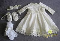 """Тепленькое платье для крещения """"Росавка"""", фото 1"""