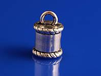 Наконечники для шнура металлические (Литье)