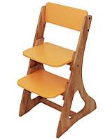 Детский растущий стул С 500 - 1 Mobler(зеленый,розовый,оранжевый)