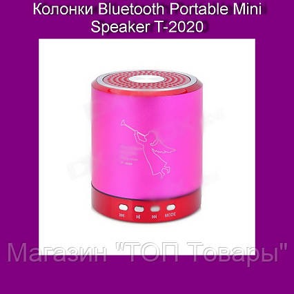 Колонки Bluetooth Portable Mini Speaker T-2020!Акция, фото 2