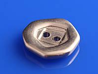 Металлические пуговицы плоские (Литье)