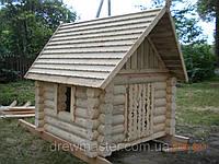 """Детский деревянный домик """"Теремок"""" из сруба"""