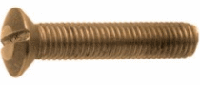 Винт латунныё ГОСТ 1474-80 М2 с полупотайной головкой