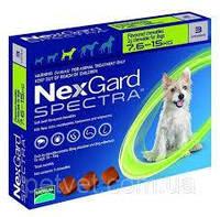 Нексгард спектра от блох, клещей и гельминтов для собак от 7,5 до 15 кг/ 1таблетка