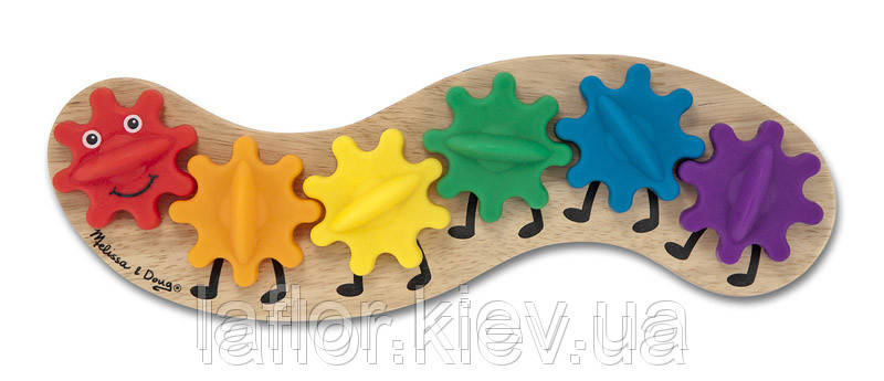 Деревянная игрушка Гусеница Melissa&Doug