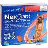 Нексгард спектра от блох, клещей и гельминтов для собак от 30 до 60 кг/ 1таблетка