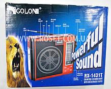 Портативный проигрыватель - GOLON RX-1431T USB SD MP3+FM LEDLight