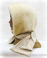 Зимний латок из меха норковый (жемчуг)