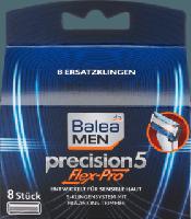 Сменные лезвия для станка Balea men Precision 5 Flex-Pro, 8 шт