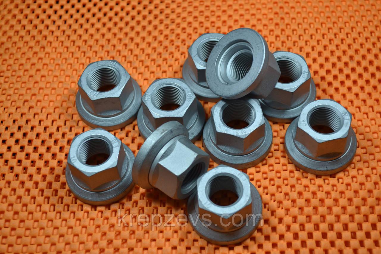 Гайка М4 DIN 6923, ГОСТ Р 50592-93
