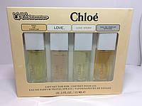 Духи с феромонами Chloe женские ( Набор 15мл 4 шт)