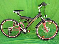Гірський велосипед , двохпідвіс Kansas