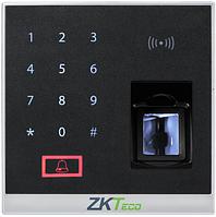 Локальная панель контроля доступа по отпечаткам с Silk-ID сенсором ZKTeco X8-BT