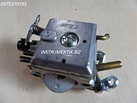 Карбюратор для Husqvarna 340,345 на 2 латунных краника
