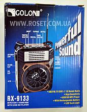 Проигрыватель переносной - Golon RX-9133 MP3 USB SD FM FlashLight