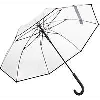 Зонт трость Fare 7112 прозрачный/черный