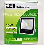 Светодиодный наружный фонарь прожектор - LED Outdoor Light 10W, фото 2